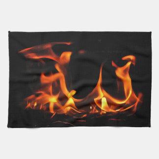 踊りの火の台所タオル キッチンタオル