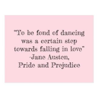 踊りの郵便はがきが好きがあるため ポストカード