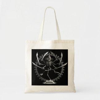 踊りの骨組戦士のバッグ トートバッグ