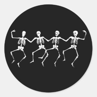踊りの骨組II ラウンドシール