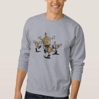 踊りのDreidelのスエットシャツ スウェットシャツ