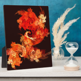 踊りのFirebirdsの抽象美術のプラク フォトプラーク