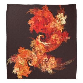 踊りのFirebirdsの抽象美術 バンダナ