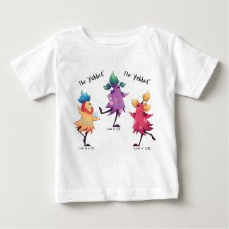 踊りのYabbutsのベビーのTシャツ ベビーTシャツ