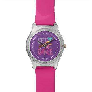 踊りソエ 腕時計