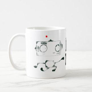 踊り機械マグ コーヒーマグカップ