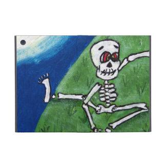 踊るおもしろいな骨組こうもりの月ハロウィン iPad MINI ケース
