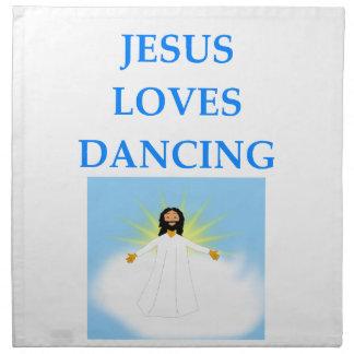 踊ること ナプキンクロス
