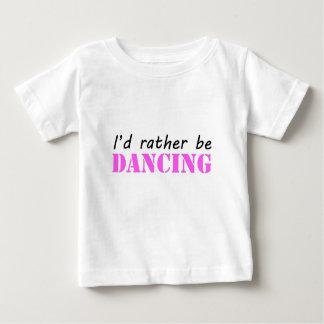 踊ること ベビーTシャツ
