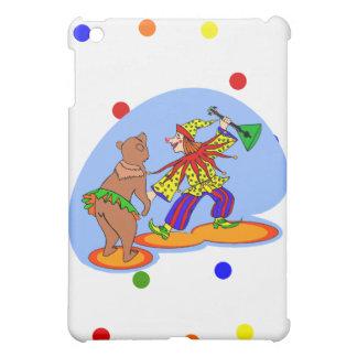 踊るピエロ及びくま iPad MINI カバー