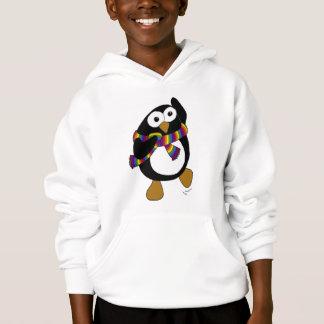 踊る虹のスカーフの漫画のペンギン