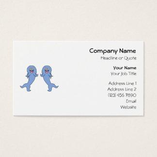 踊る鮫のカップル 名刺