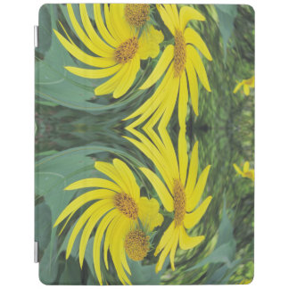 踊る黄色い野生の花 iPadスマートカバー