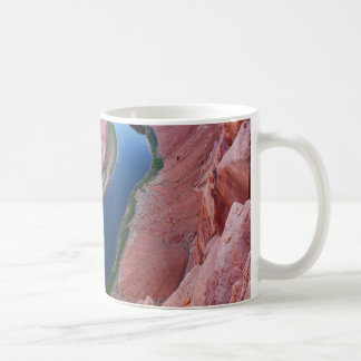蹄鉄のくねりのアリゾナの平面図 コーヒーマグカップ