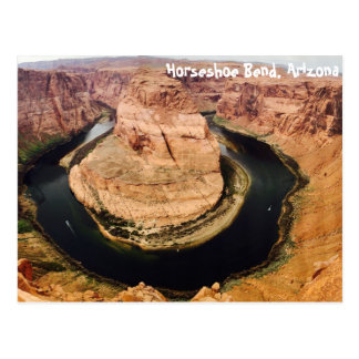 蹄鉄のくねり、アリゾナ、米国 ポストカード