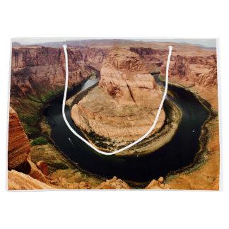 蹄鉄のくねり、アリゾナ、米国 ラージペーパーバッグ