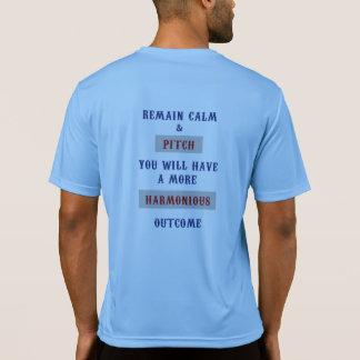 蹄鉄のスポーツTekの競争相手T Tシャツ