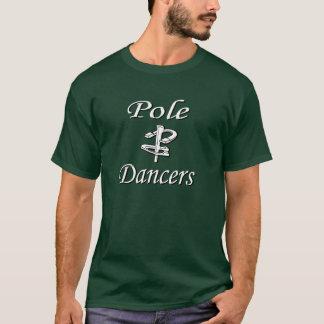 蹄鉄のピッチングの基本的な暗いティー Tシャツ
