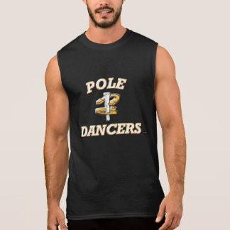 蹄鉄のピッチングの袖なしのティーポーランド人のダンサー 袖なしシャツ