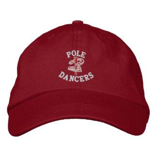 蹄鉄のピッチングの調節可能な帽子によって刺繍される基盤 刺繍入りキャップ