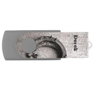 蹄鉄のヴィンテージのセピア色の写真 USBフラッシュドライブ