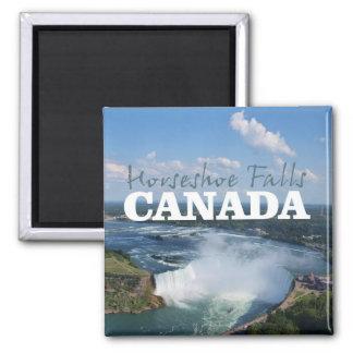 蹄鉄の滝のカナダ旅行記念品の磁石 マグネット