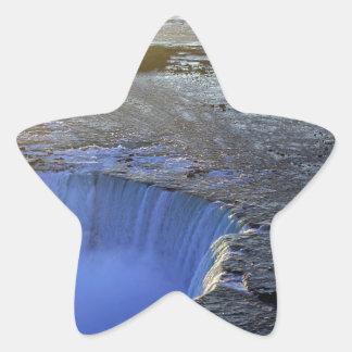 蹄鉄の滝、カナダ 星シール