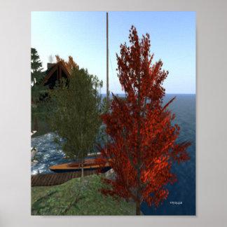 蹄鉄の秋 ポスター