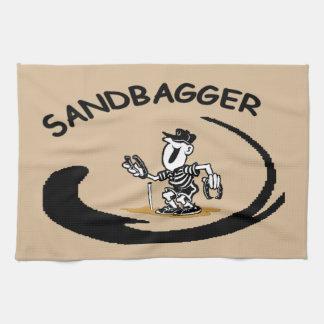蹄鉄のSandbaggerタオル キッチンタオル