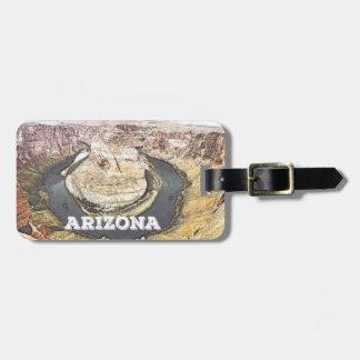 蹄鉄湖-アリゾナ ラゲッジタグ