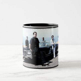 躁病の容器 ツートーンマグカップ