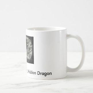 身をかがめるトラ、隠されたドラゴンのマグ コーヒーマグカップ