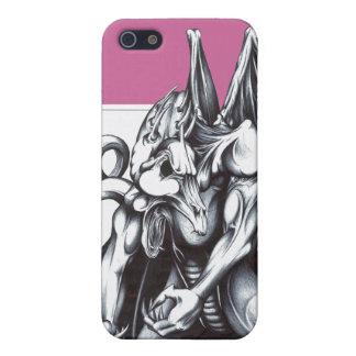 身を屈めるドラゴン iPhone SE/5/5sケース