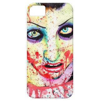 身体傷害のポップアートのゾンビの女の子の絵画 iPhone 5 CASE