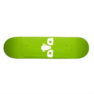 身元を隱した 18.1CM オールドスクールスケートボードデッキ