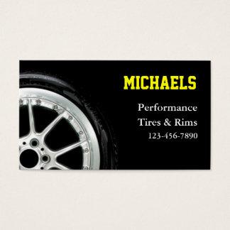 車のなタイヤおよび縁の販売 名刺