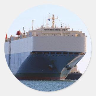 車のキャリアの貨物船3 ラウンドシール