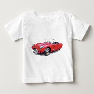 車のバークレークラシックなT60のコンバーチブル ベビーTシャツ
