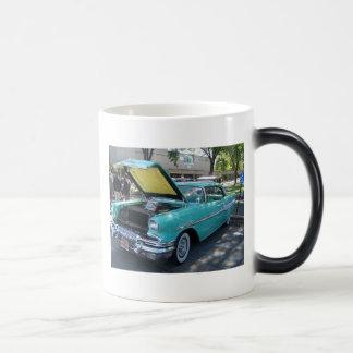 車のプロフィール モーフィングマグカップ