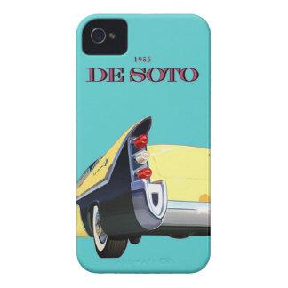 車のヴィンテージのDeSotoのクラシックな自動車 Case-Mate iPhone 4 ケース