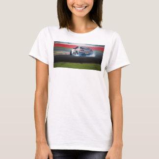 車の女の子のjdmのワイシャツ tシャツ