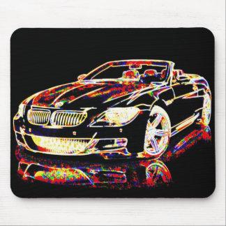 車の芸術 マウスパッド