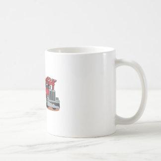 車の運送業者 コーヒーマグカップ