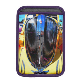 車のiPad Miniの黄色くクラシックな垂直 iPadミニ スリーブ