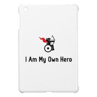 車椅子のアーチェリーの英雄 iPad MINIケース