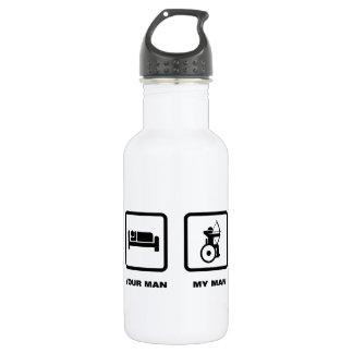 車椅子のアーチェリー ウォーターボトル