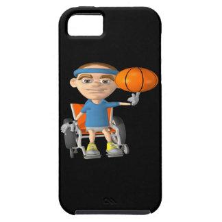 車椅子のバスケットボール iPhone SE/5/5s ケース