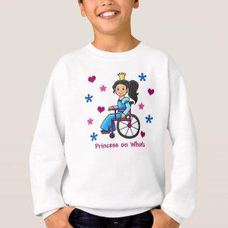 車椅子のプリンセス スウェットシャツ