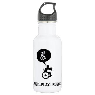 車椅子のラグビー ウォーターボトル