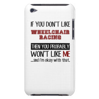 車椅子の競争のカッコいいを好まなければ Case-Mate iPod TOUCH ケース